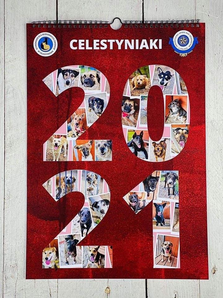 Kalendarz na 2021 z CELESTYNIAKAMI