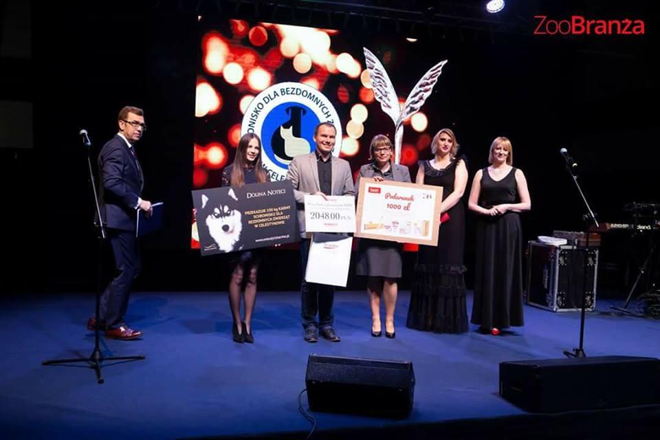Celestyniaki nagrodzone na Gali Biznesu ZooBranży