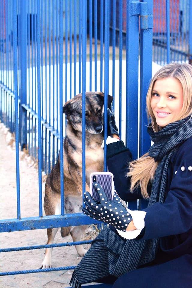 Joanna Krupa wspiera schronisko w Celestynowie.