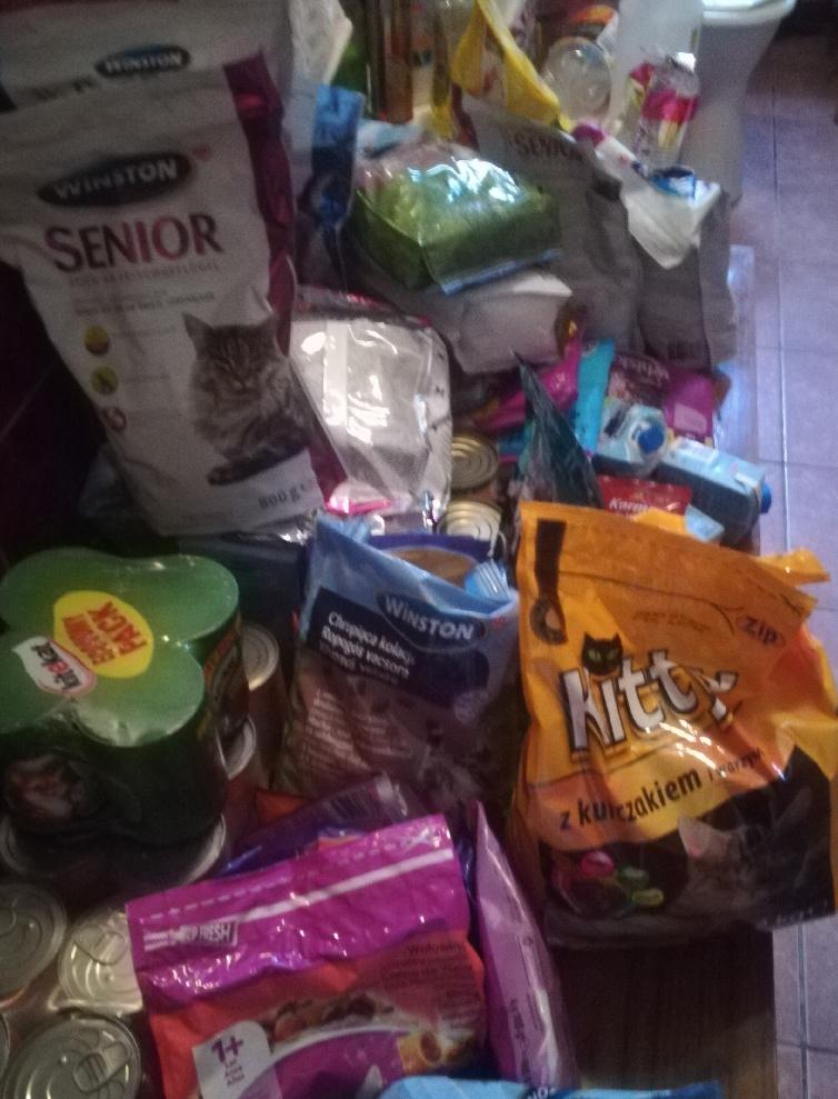 Podziękowanie za zbiórkę żywności
